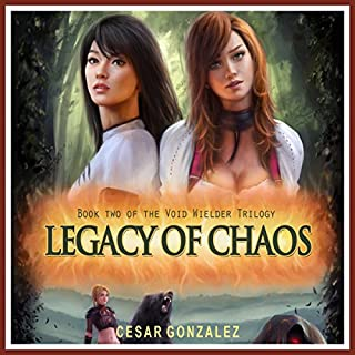 Legacy of Chaos audiobook cover art