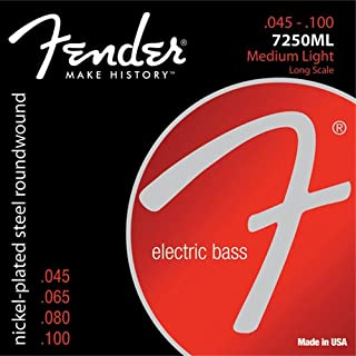 Best fender 7250 bass strings Reviews