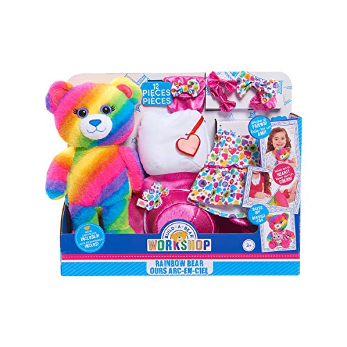 Build A Bear Plush - Rainbow Bear