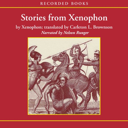 Stories from Xenophon audiobook cover art