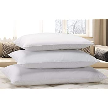 """Courtyard by Marriott Down Alternative Eco Pillow - Soft, Eco-Friendly Pillow with 100% Recycled Fill - Exclusively for Courtyard - Standard (20"""" x 26"""")"""