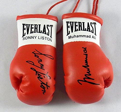 Everlast Muhammad Ali V Sonny Liston Signiert Mini Boxhandschuhe