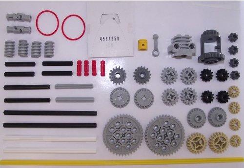 LEGO Technic 56 pezzi set composto da ingranaggi, assi e parti di motore. La consegna è pronta a