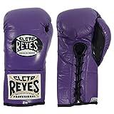 Ringside Cleto Reyes Official Fight Boxing Gloves, 10 oz, Purple