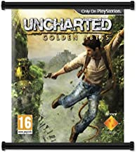 Uncharted Golden Abyss Game Fabric Wall Scroll Poster (32