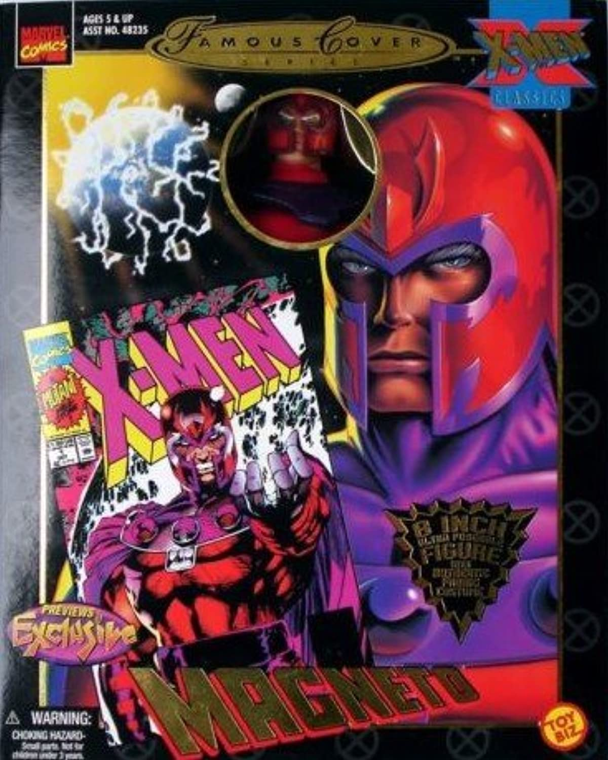 mejor calidad Marvel Famous Famous Famous Covers Magneto 8  Acción Figura by Juguete Biz  toma