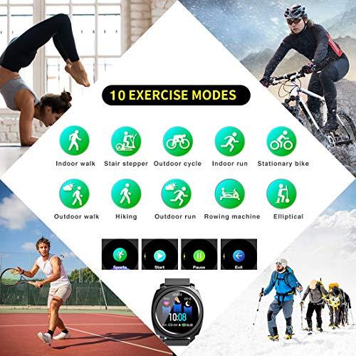 EUMI Smartwatch economico IP67 con cardiofrequenzimetro