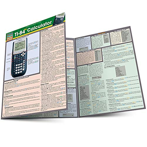 Compare Textbook Prices for Ti 84 Plus Calculator Quick Study Academic Lam Rfc Cr Edition ISBN 9781423221654 by BarCharts, Inc.