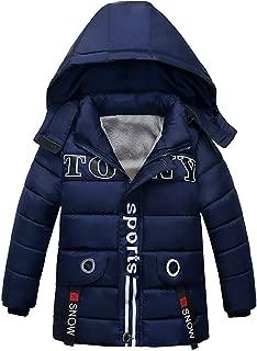 Selou Mode Kinderjacke Baumwollkleidung Jungen M/ädchens Winterjacke gedruckt Hoodie Einfarbige Baumwolljacke Zip-Strickjacke Einfacher Mantel Jacke Parker Oben pullover tops t-shirt Winterbekleidung