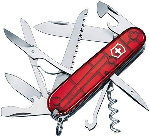 Victorinox Taschenmesser Huntsman (15 Funktionen, Schere, Holzsäge, Korkenzieher, Kapselheber, Drahtabisolierer)