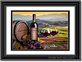 Taste of love - Personalized artwork with Couple's Names on it, wedding Anniversary gift, Valentine's Day gift.