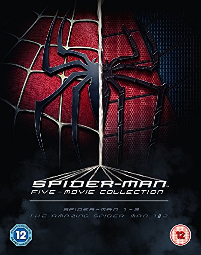 The Spider-Man Complete Five Film Collection [Blu-ray] [Region Free]