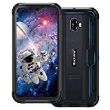 smartphone antiurto, blackview bv5900 rugged cellulare 4g android 9.0, 5.7 pollici hd+ telefono resistente ip68, 3+32gb, batteria 5580mah, 13mp+5mp, tf 256gb, dual sim, gps/face id/bussola[italia]