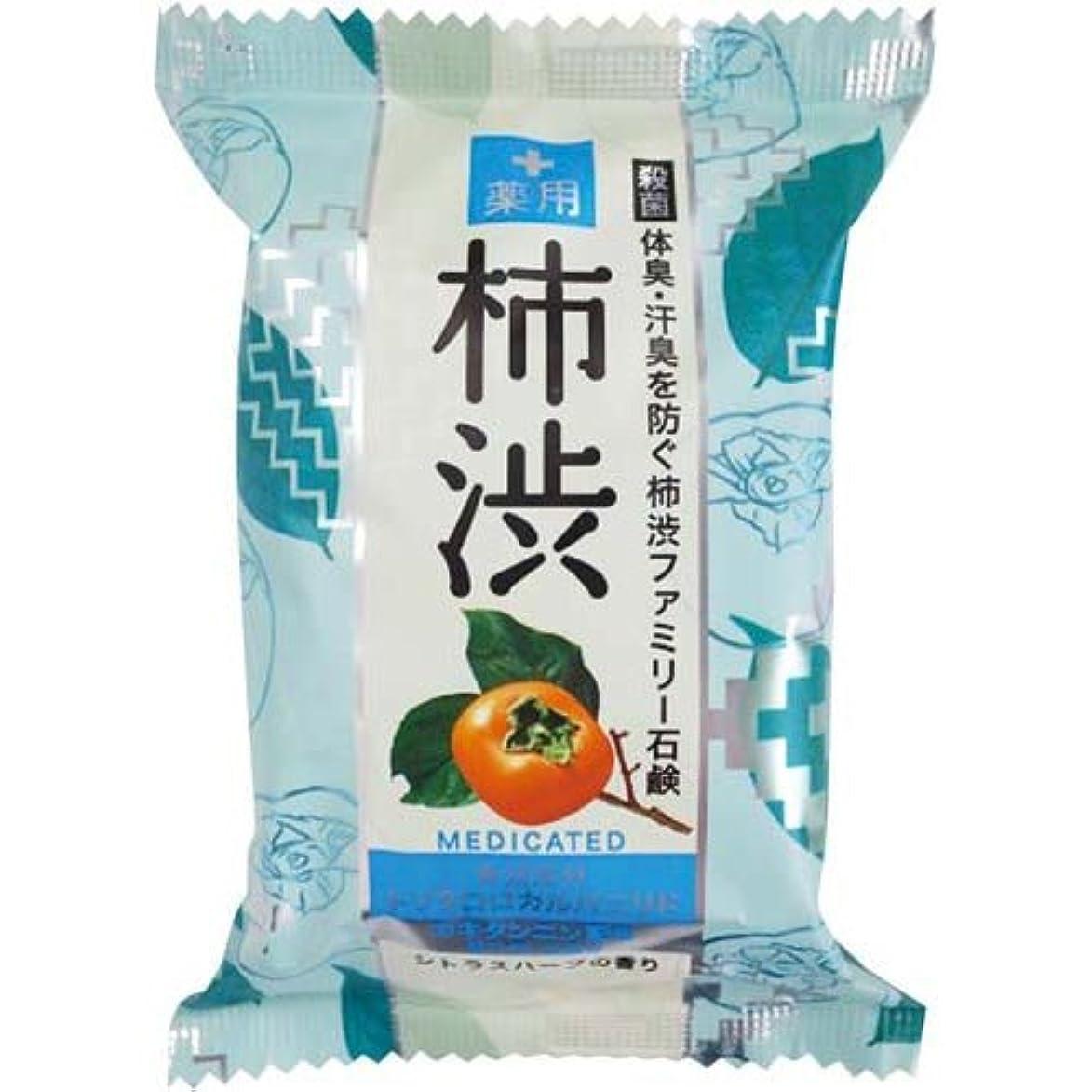 最小前述の革命的ペリカン石鹸 薬用ファミリー柿渋石鹸×6個×4箱