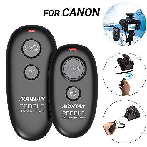 AODELAN Camera Remote Control Wireless & Wired Shutter Release for Canon EOS R,T3,T5,T6,T6i,T7,T7i,80D,6D Mark II,5D Mark III/IV Digital SLR Cameras