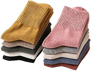comprar comparacion EasySMX Calcetines de mujer 10 pares de calcetines de algodón cálidos de cintura de otoño e invierno Calcetines cálidos de...