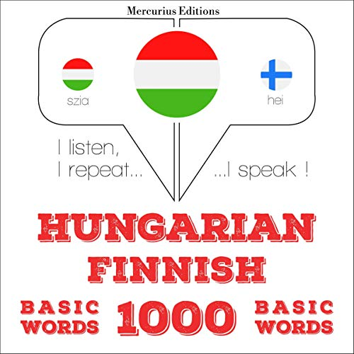 Couverture de Hungarian – Finnish. 1000 basic words