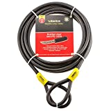 Cable de Doble Bucle de Sterling, Negro, 129C