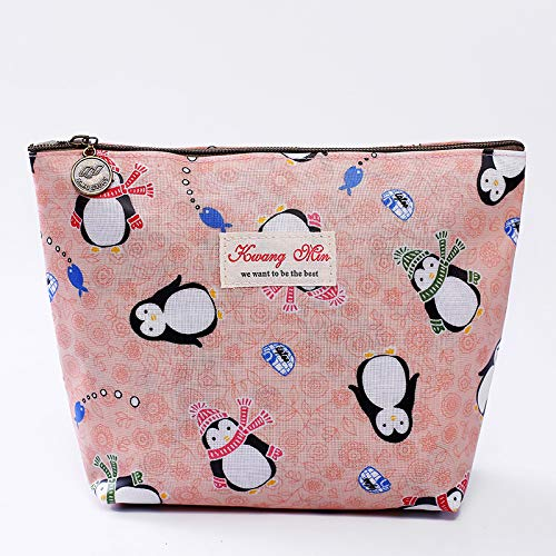 longsheng Neceser bolsa de viaje bolsa de cosméticos para mujeres, adorable bolsa de maquillaje espaciosa bolsa de viaje organizador impermeable accesorios organizador regalos