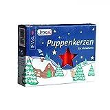 Unbekannt Sigro Puppen Kerzen, Wachs, rot, 0,7x 0,7x 6,5cm