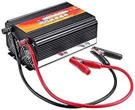 YOCrazy-US Direct 8000W Heavy Duty Pure Sine Wave Converter Power Inverter Car Power Inverter 12V to 110V with 2 AC Outlets LED Display