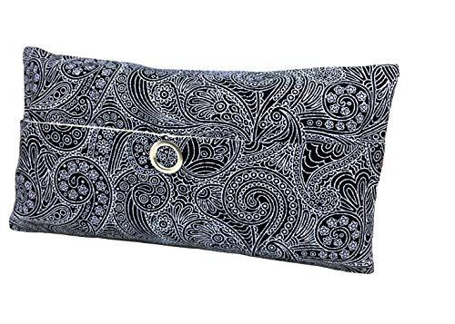 Taschentücher Tasche Paisley schwarz Design Adventskalender Befüllung Wichtelgeschenk Mitbringsel Give Away Mitarbeiter Weihnachten Abschied Geschenk Concrete