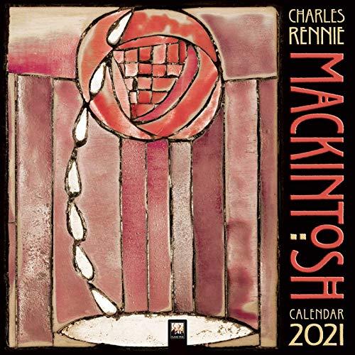 Charles Rennie Mackintosh 2021: Original Flame Tree Publishing-Kalender [Kalender] (Wall-Kalender)