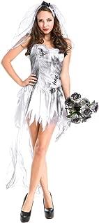 Ghost Bride Demon Costume Vampire Fancy Dress Sexy Poison Ivy Costume