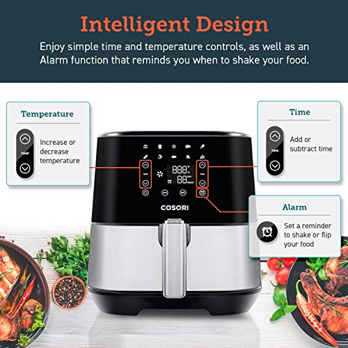 COSORI Stainless Steel Air Fryer 5.8Qt