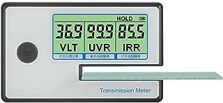 IR UV VL Window Tint Solar Film Window Film Transmission Meter Tester IR 950nm UV 365nm VR 550nm Digital with Testing Slot up to 8mm