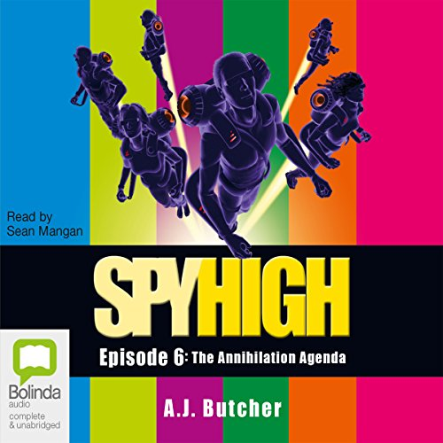 Spy High cover art