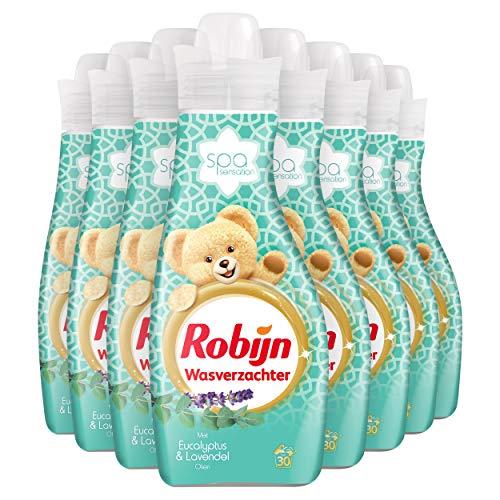Robijn Spa Sensation Wasverzachter 8 x 30 wasbeurten - 8 x 750 ml Voordeelverpakking