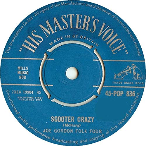 Scooter Crazy / Nessie The Loch Monster [Vinyl Single 7'']