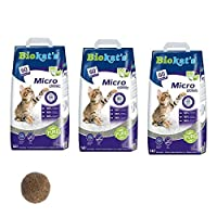 MADE USING ONLY THE VERY BEST GERMAN raw clay with disinfectant VIRTUALLY DUST FREE, the fresh granules dont stick to your cats paws so they wont leave a trail of litter behind them CLUMPS CAN BE EASILY AND SAFELY disposed of by flushing down the toi...