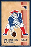 New England Patriots - Retro Logo 14 Poster Drucken (86,36