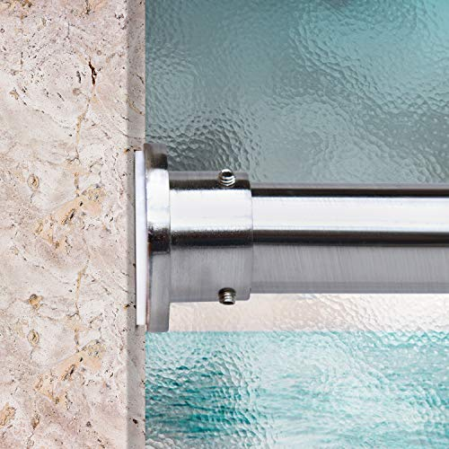 Room/Dividers/Now Premium Tension Curtain Rod, 48in-80in (Silver)