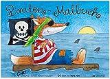 Grätz Verlag Mini-Malbuch: Piraten Geschenk Malen Mitgebsel Pirat Kinder Kindergeburtstag