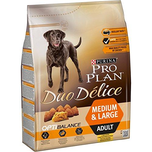 PURINA Pro Plan Duo Délice Comida Seco para Perro Adulto Mediano, Sabor Pollo con Arroz - 2.5 Kg 🔥