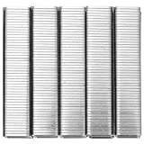 ULTECHNOVO 5 Cajas/ 5000Pcs Grapas Tipo Puerta Tipo Puerta para...