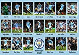 The Signature Shop Foto Poster Man City 2018, 2019 Team