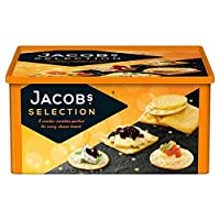 (Jacobs (ジェイコブス)) チーズ900グラムのためのヤコブのビスケット (x4) - Jacob's Biscuits For Cheese 900g (Pack of 4) [並行輸入品]