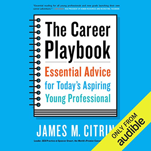 The Career Playbook audiobook cover art