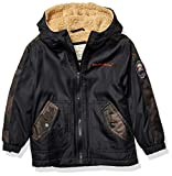 Weatherproof Boys' Little Outerwear Jacket (More Styles Available), Camo Black, 5/6