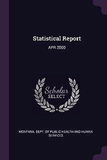 Statistical Report: Apr 2000