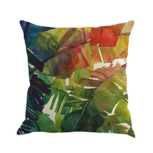 Caroline Philipson L'Statue de la Fleur du Pays et L'Bireau 2 HomerDecor Cushion Linen Throw Pillow Covers 45 x 45 cm Sofa Seat Cushion