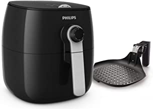 Philips Viva Collection Air Fryer - HD9623, Black