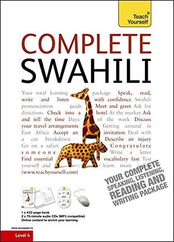 Compare Textbook Prices for Complete Swahili Beginner to Intermediate Course: Learn to read, write, speak and understand a new language Teach Yourself 1 Edition ISBN 9781444105629 by Russell, Joan