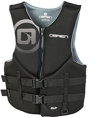 O'Brien Men's Traditional Neoprene Life Jacket, Green, Large
