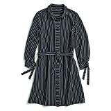Tommy Hilfiger Women's Adaptive Shirt Dress with Magnetic Buttons, Masters Navy, Small (Apparel)