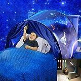 Nifogo Carpa Tiendas de Ensueño - Tent Kids, Magical World Carpa Impermeable Ensueño Wizard Children Play Cama Tienda Campaña (b- Aventura Espacial)